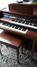 Lowrey Pageant Electric Organ 43�W x 36�T x 24�D Matching Bench