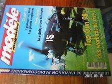 2?µ µ? Revue Modele Magazine n°561 plan encarté Avion JCM / Alpina 4001 PALIO