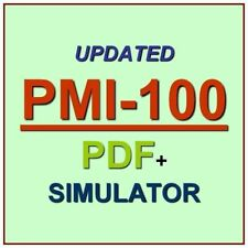PMI Certified Associate in Project Management CAPM Test PMI-100 Exam QA PDF+SIM