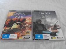 Warhammer Dawn of War + Dawn of War Winter Assault PC games