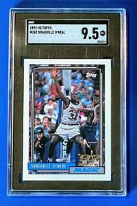 1992-93 Topps Shaquille O'Neal #362 RC Rookie SGC 9.5 MT+ HOF Freshly Graded!