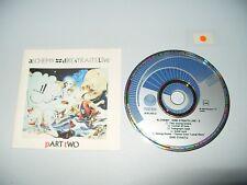 Dire Straits Live Alchemy Part Two cd Rare Blue Vertigo Swirl 1984 very good +