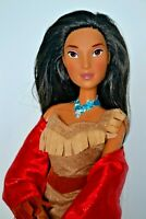 Disney Magasin Exclusif Pocahontas Grand 17 inch Chantant Repositionnable Doll