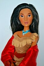 Disney Store Exclusive Pocahontas large 17 inch Singing Poseable Doll