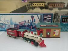 Vintage  New Bright Holiday Village Train Set #174