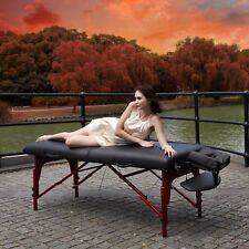 Master Extra 31' Montclair Portable Massage Reiki Table Black Minor Defective