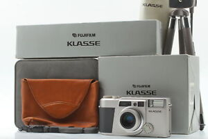 [MINT in Box] Fujifilm Fuji Klasse Silver Film Camera w/ Original Tripod JAPAN