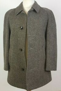 Dunn & Co Mens Wool/Tweed Coat Medium