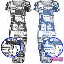 Unbranded Women's Viscose Knee Length Stretch, Bodycon Dresses