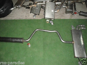 VW Golf 7 TSI Exhaust System Pre-silencer Nachschalldämpfer New Original Nr.8