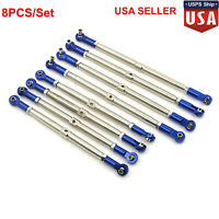 Alloy Metal Rod End Push Rods 5319X 5338R for 1/10 TRAXXAS NEW E2.0 SUMMIT EREVO