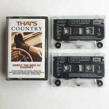 That's Country: Simply The Best of Country - Double Cassette 72438 36433 4 9