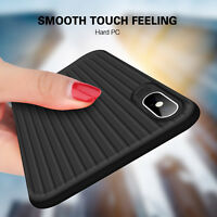 For iPhone X 7 6s 8 Plus Ultra Slim Shockproof Bumper Matte Hard Skin Case Cover