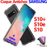 COQUE SAMSUNG S10 S10e S10+ GALAXY S10 PLUS ETUI HOUSE TRANSPARENT ANTICHOC