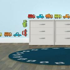 Decals 36 Vehicles For Kids Room
