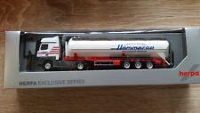 Herpa 927543 - 1/87 MB actros bigspace Silo-remolcarse-Hammer Aquisgrán-nuevo