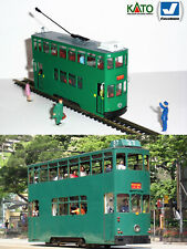 Hong Kong 6th generation tram HO/N gauge (HOe) - motorized figures KATO ATLAS