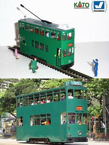 Hong Kong 6th generation tram HO/N gauge (HOe) - motorized figures KATO ATLAS