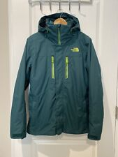 Mens The North Face Clement Triclimate Jacket Small Green