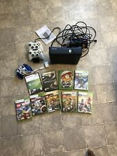 Xbox 360 4gb Console Game Bundle With Controller Charger 3 Controllers