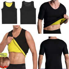 Men's Slimming Neoprene Vest Sauna Sweat Weight Loss Shirt Body Shaper Corset