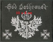 God Dethroned - patch - FREESHIPPING !!!!