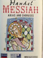 LSO - Handel - Messiah (Arias & Choruses) - Classical Cassette Tape (C147)
