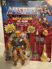 Masters of the Universe Origins Battle Armor He-Man 5.5 inch Action Figure