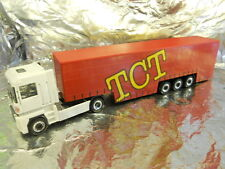 Herpa 282697 RENAULT Magnum Curtain Canvas Semitrailer TCT 1 87 HO Scale