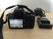 Canon EOS 500D DSLR Body with battery and charger.