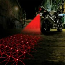 Motorcycle Laser Fog Lights Anti Collision LED Taillight Anti Fog Parking Stop