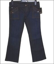 "BNWT Para Mujer Oakley Rapture Stretch Jeans Industrial Denim W29 ""L 33 de la"" Nueva"