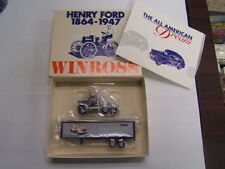Winross Henry Ford 1948 Tractor Trailer Ford F1 & F8 Chassis Trucks