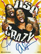 The Usos Authentic Autographed Wrestling 8x10 Photo WWE NXT AEW