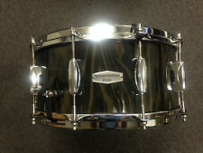 Tama 6.5x14 Soundworks Maple Snare Drum DMP1465PBLP in Black Lacebark Pine