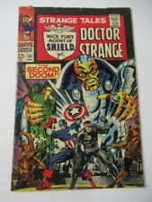 Strange Tales 161 1st appearance Yellow Claw Silver age Steranko art 1967 comic