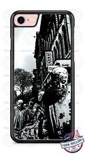 Zombie black and white Halloween Phone Case for iPhone Samsung Google LG HTC etc