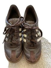 New listing Vintage brown Adidas Samoa Sneaker Tennis Shoe  Size 7.5