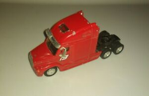 Diecast 1/64 Semi Truck Red Model Toy Action #19 Mayfield