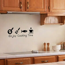 Removable Kitchen Enjoy Cooking Time Wall Sticker Vinyl Decal Home Decor