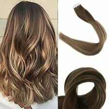 Full Shine 22 inch Seamless in Remy Human Hair Extensions Balayage Tape In Hair