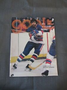 1977-78 Colorado Rockies Hockey Program vs. New York Islanders
