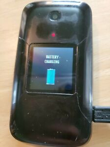 Alcatel One Touch 2017B Flip Sprint Cell Phone Retro Big Letters For Seniors