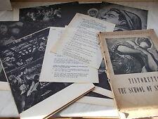 Tintoretto La escuela de San Rocco - 40 grandes suelto ilustraciones en la carpeta