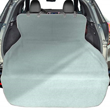 Suv Cargo Liner for Dogs, Waterproof Pet Cargo Cover Dog Seat Cover Mat Gray