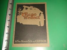 JD044 RARE Early Booklet Hart-Bell Carbon Remover Pollution Control