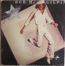 VINILE LP 33 GIRI RPM BOB MC GILPIN SUPERSTAR DBR 20094 ITALY 1978