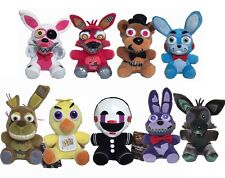 "7"" Five Nights at Freddy's 4 FNAF Horror Game Plush Dolls Kids Plushie Toys AU"