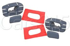 Genuine PORSCHE Cayenne 9PA 2003-2006 Headlight Washer Nozzle Trim Covers PAIR