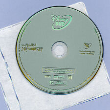 Disney Tinker Bell NeverBeast 2015 G animated kids' family movie DVD and sleeve